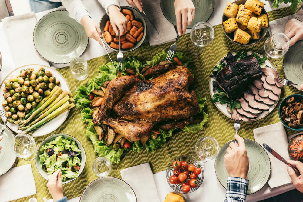 Holiday meals - how to keep your gut balanced