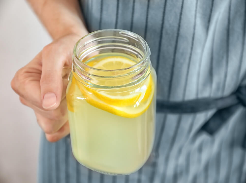 Homemade electrolyte drink for diarrhea